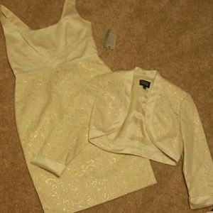 New Adrianna Papell dress/jacket